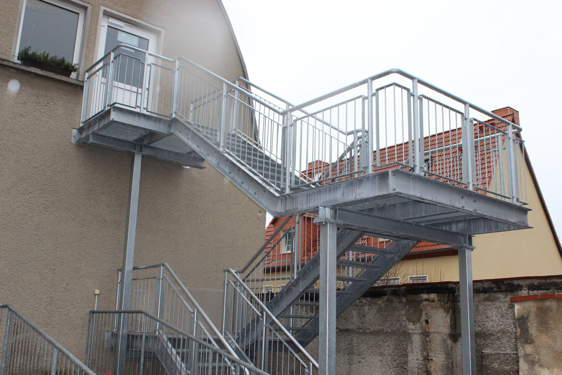 Metallbau Rödiger Stahlbau Leuna Montage Brückenbau